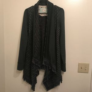 Anthropologie Saturday Sunday blanket cardigan